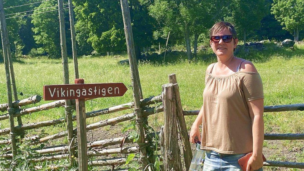 Helena i Kulturreservatet Lingnåre