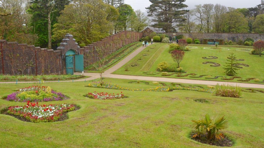 Viktoriansk trädgård Kylemore abbey