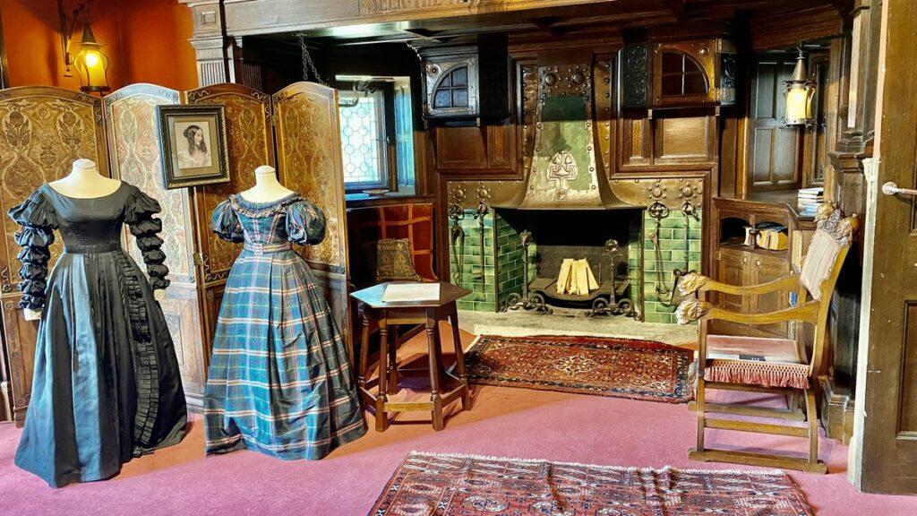 Att besöka Tjolöholms slott  - viktorianskt mode