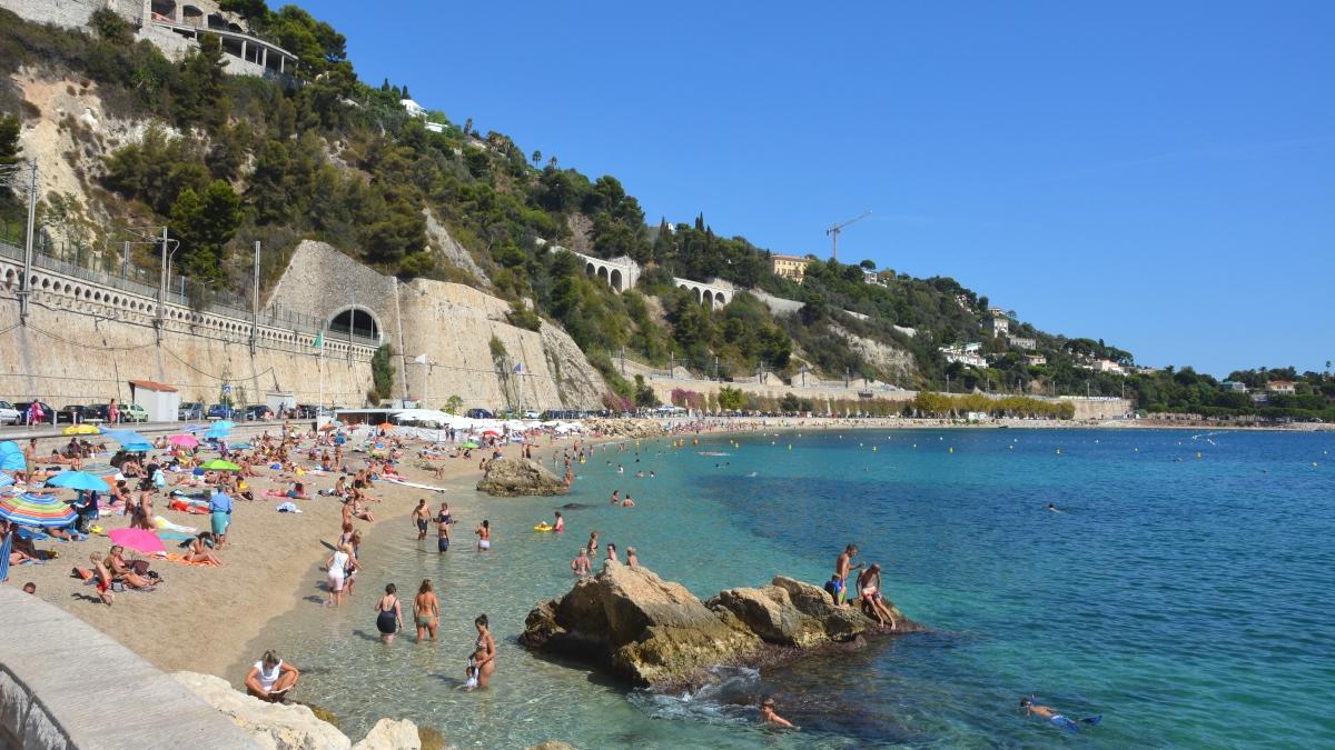 Villefranche strand