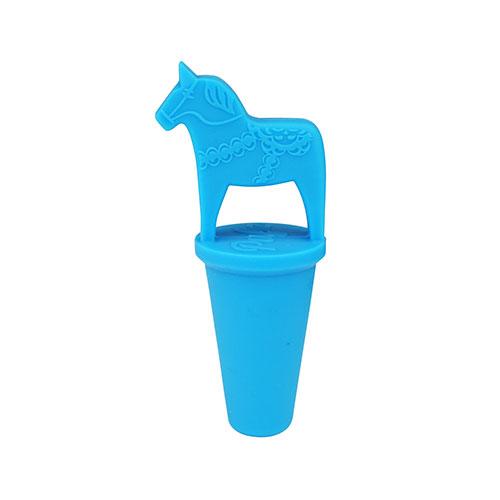 Vinkork dalahäst blå
