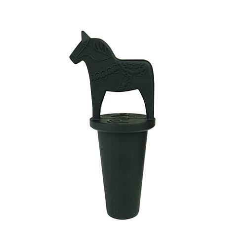 Vinkork dalahäst svart