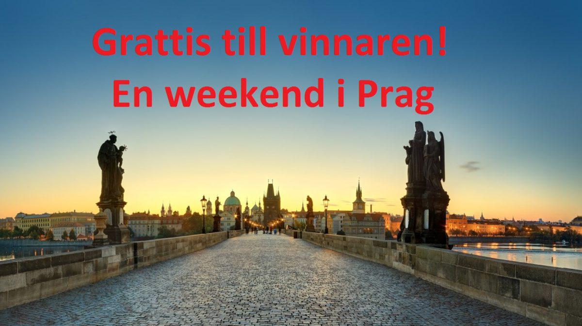 Vinnare resa Prag