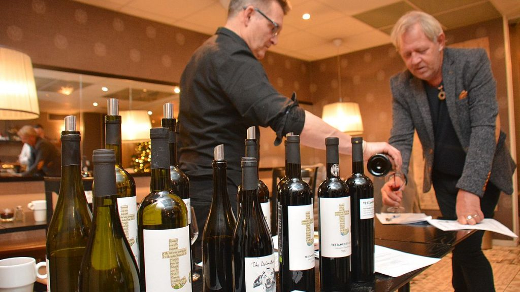 Vinprovning kroatiska viner