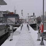 Att bo i husbåt på vintern