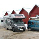 Vintercamping i Trosa