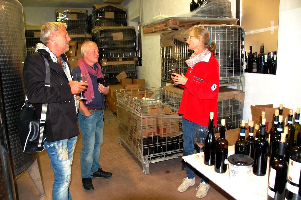 På besök hos Viviani: Sandra berättar om de olika vinerna
