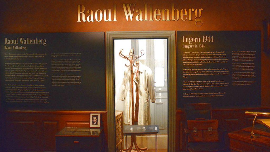 Raoul Wallenberg på Armémuseum i Stockholm