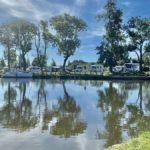 Wassbackens camping – och slussen i Tåtorp