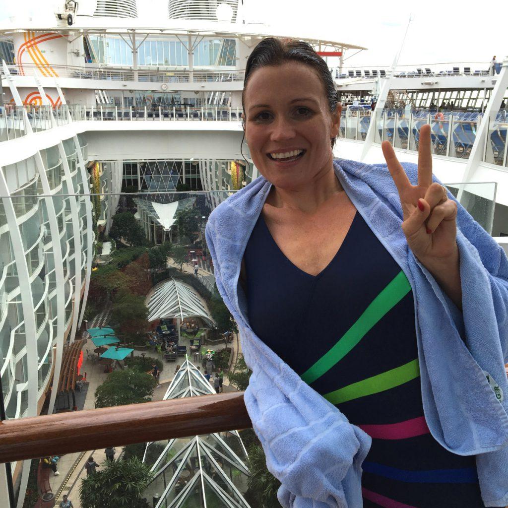 Rosita Lincoln ombord på Harmony of the Seas som bjuder på häftiga vattenruchkanor och en egen Central Park.