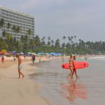 Stranden Weligama – bad och surfing i Sri Lanka