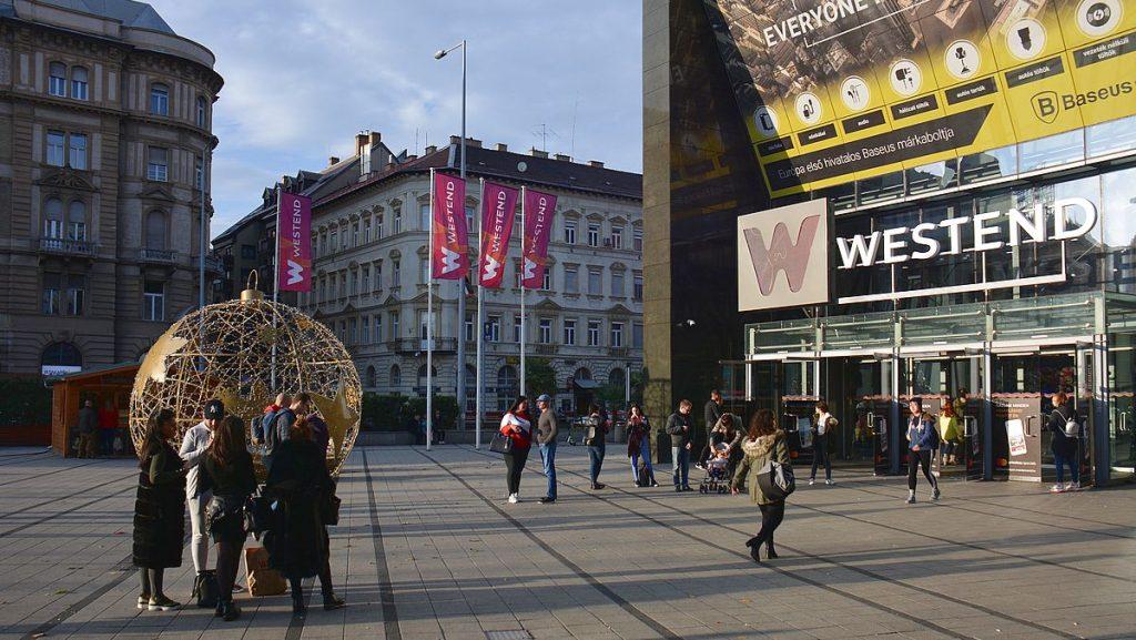 Westend - shopping i Budapest