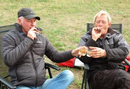 Whiskey och cigarr