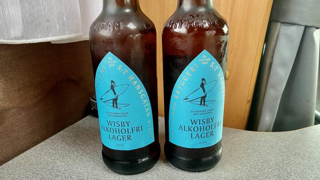 Wisby alkoholfri lager