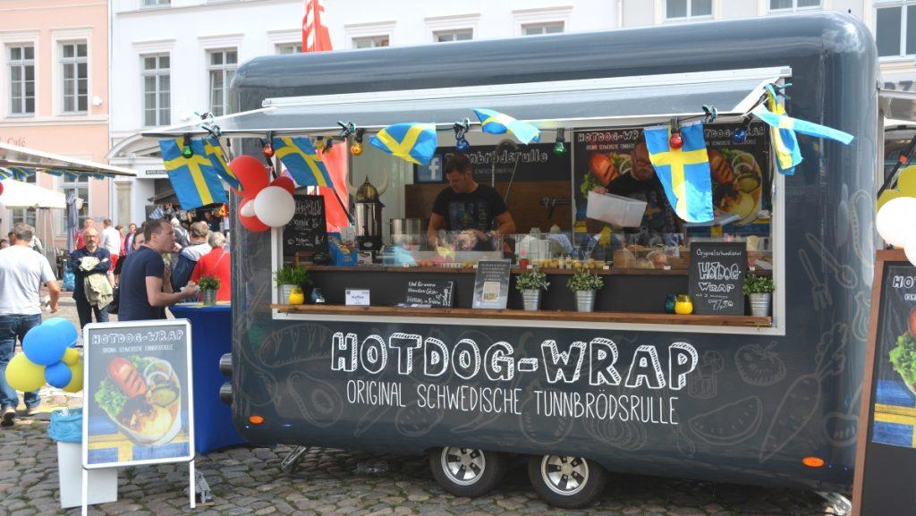 Wismar i Tyskland - Schwedenfest