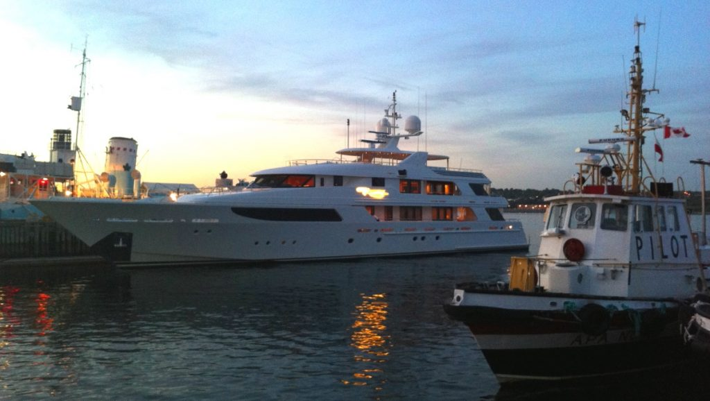 Yacht Kanada