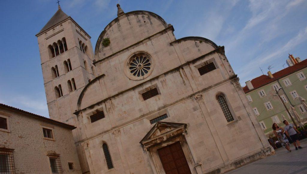 Kyrka i Zadar i Kroatien