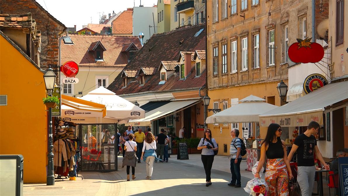 Zagreb överraskade oss med att vara en otroligt charmig och mysig stad