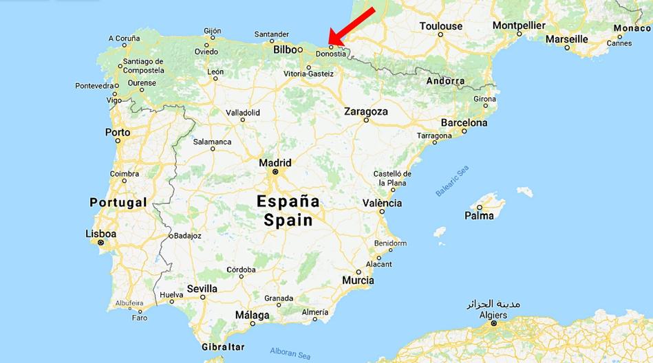 Spanien, Zarautz