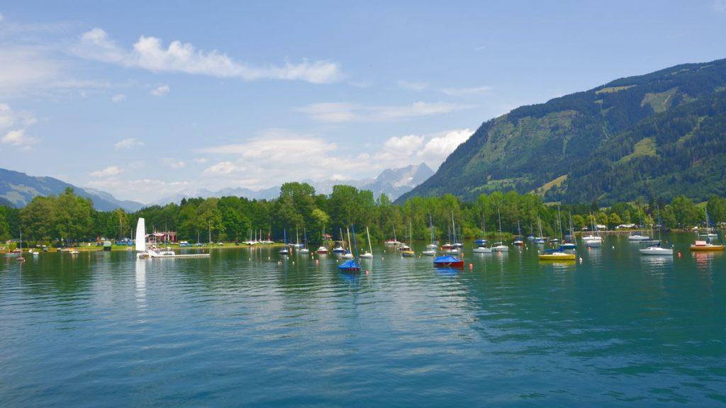 Härligt i Zell am See på sommaren