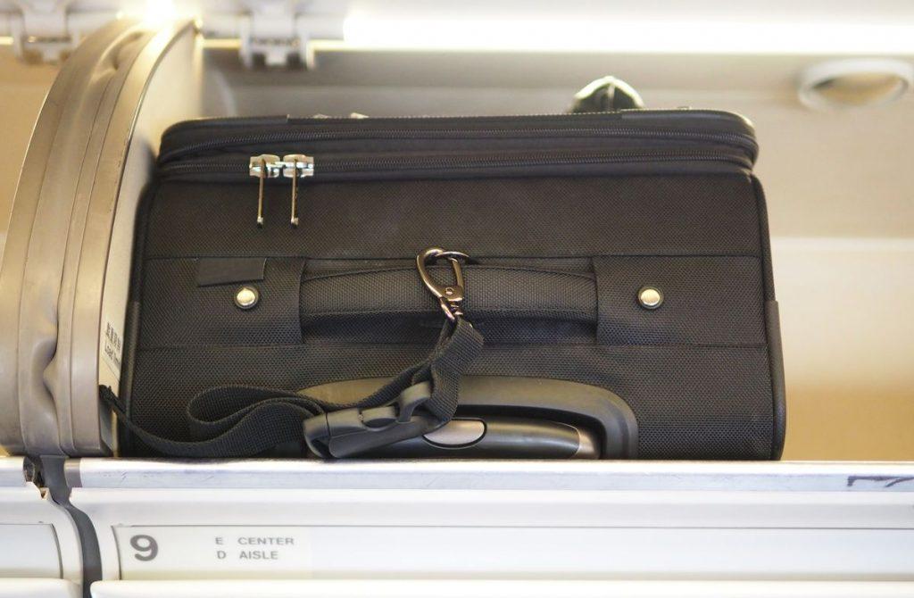 Endast handbagage