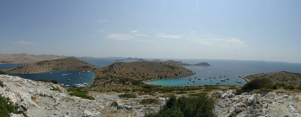 Nationalpark i Kroatien - Kornatiöarna