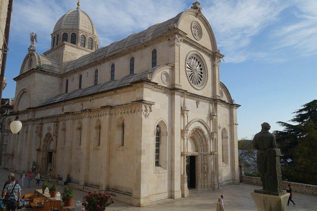 Unesco världsarv i Kroatien - Sankt Jakobs katedral i Sibenik
