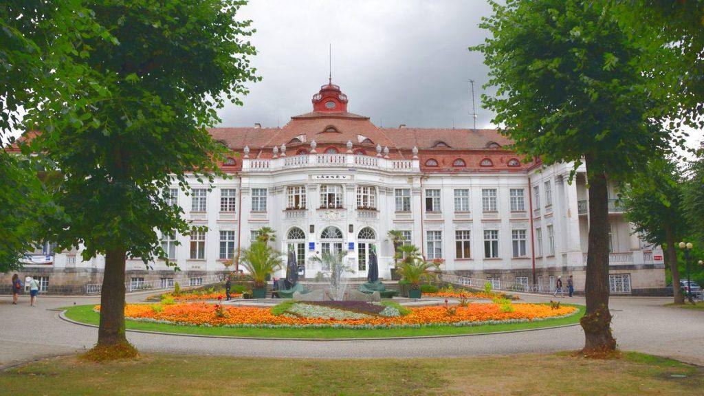 Badhus Karlovy Vary, Karlsbad, kurort i Tjeckien