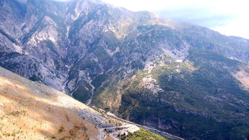 vackra vägar i Europa - Albanien
