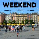 Weekend i Europa i höst? – här är våra tips