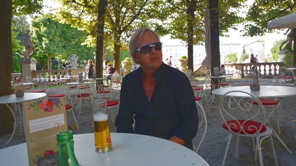 Café vid Mirabell Garden