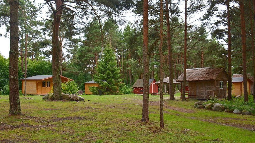Camping på Kynö