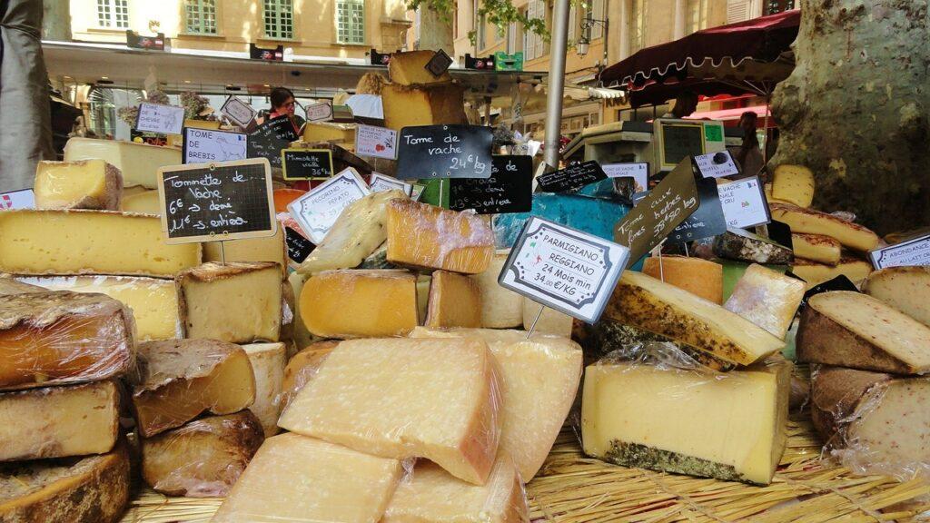 Fakta om Frankrike - ost