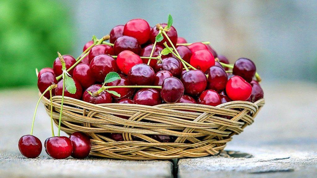 Körsbär används i det ungerska köket