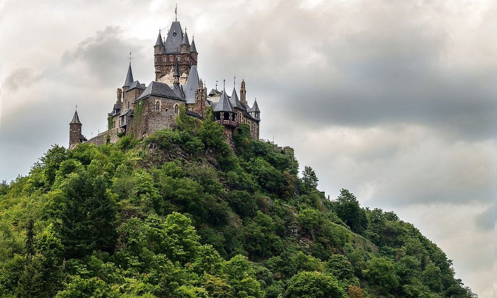Slott i Tyskland - Rechsburg Cochem