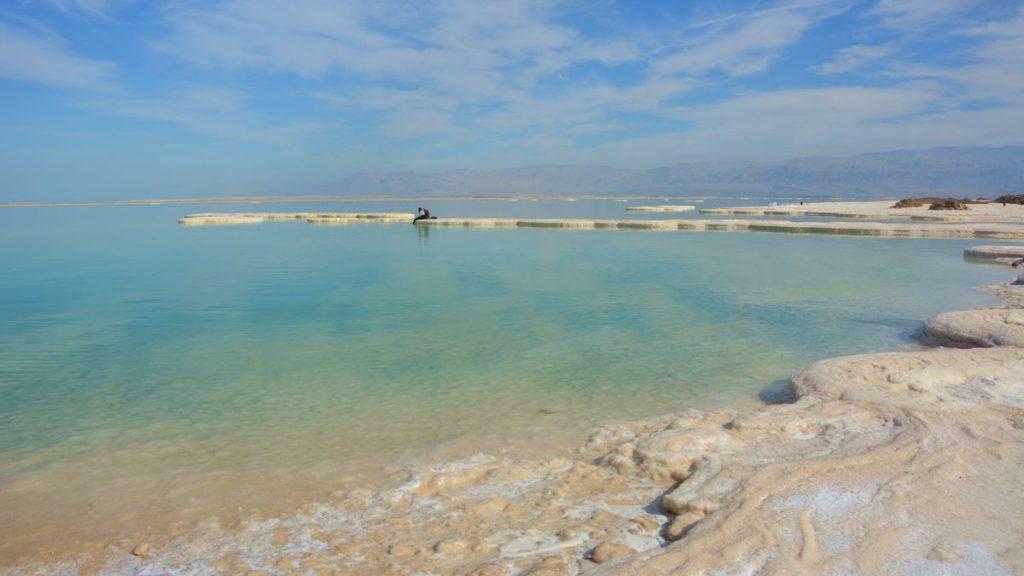 besöka Israel och Döda havet