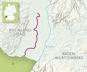 Vackra vägar i Tyskland: Vinvägen