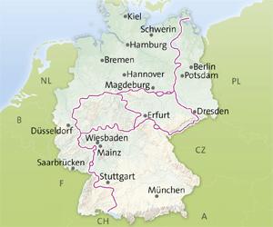 Vackra vägar i Tyskland: Avenyvägen