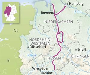 Vackra vägar i Tyskland: Sagovägen