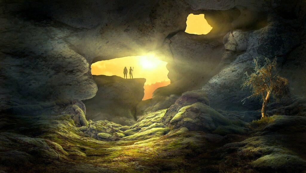 Gruvor och grottor i Tyskland