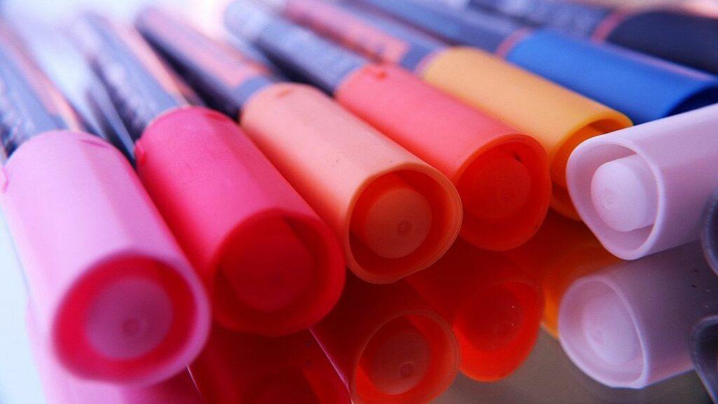 Tips för flytten - tuschpennor