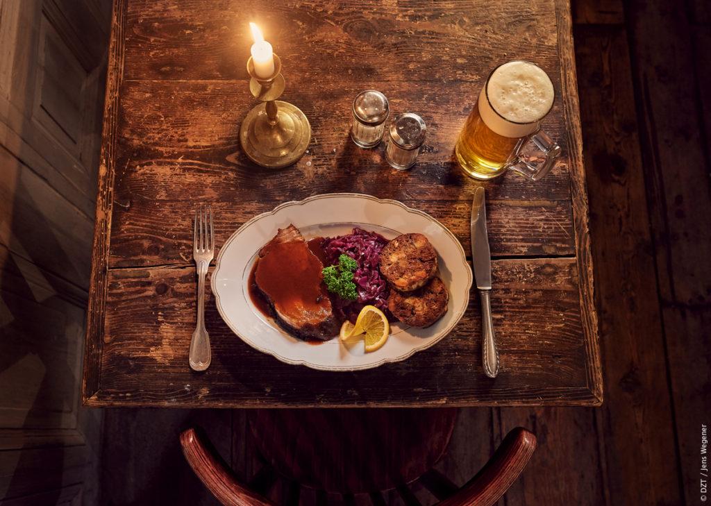 Öl i Tyskland - middag