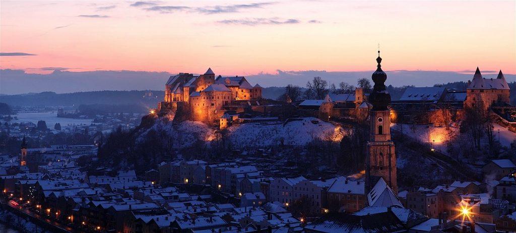 Slott i Tyskland: Burghausen castle