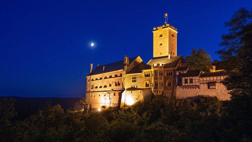 Slott i Tyskland - Wartburg
