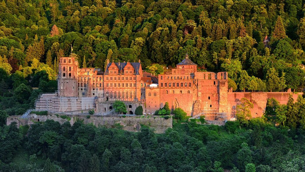 Slott i Tyskland - Heidelberg castle