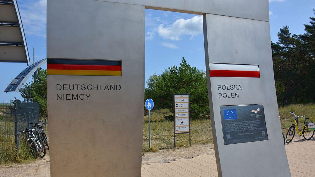 Gräns Tyskland Polen