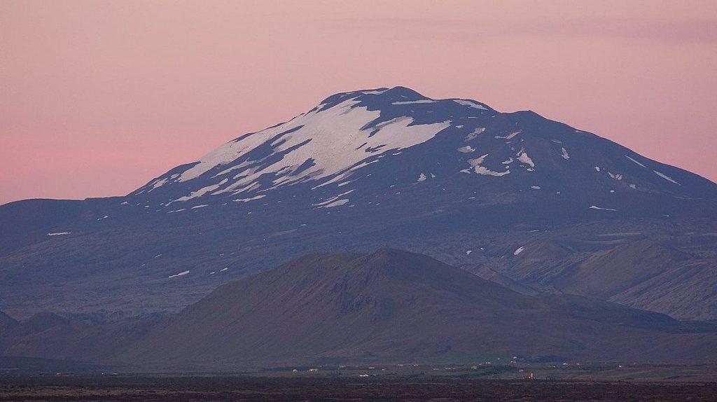 Vulkaner på Island: Hekla