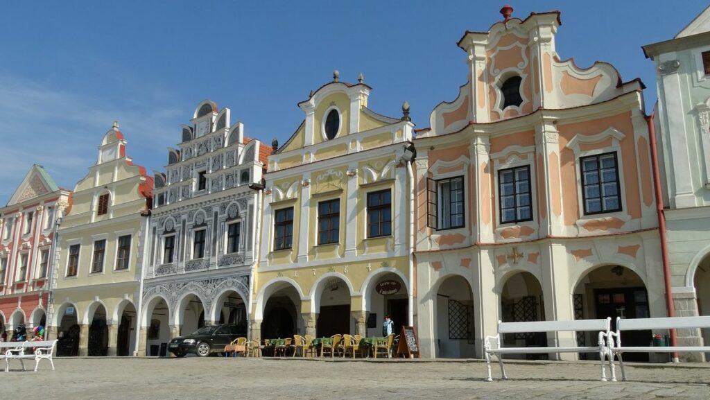 Unesco världsarv i Tjeckien - Telc