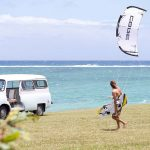 Kitesurfing + husbil = en perfekt kombo!