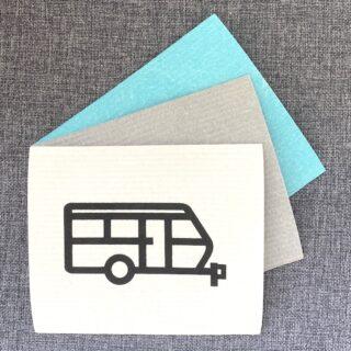 Diskduk husvagn / Disktrasa husvagn